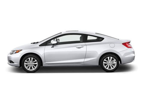 Test drive used 2012 honda civic at home from the top dealers in your area. Image: 2012 Honda Civic Coupe 2-door Auto EX Side Exterior ...