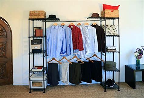 Seville Classics Expandable Closet Organizer System, Satin