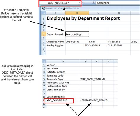 data mapping template creating excel templates