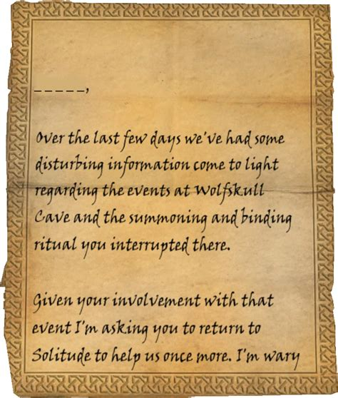 daedric sword collectors edition letter opener the elder image letter from falk firebeardpage1 png elder 12072