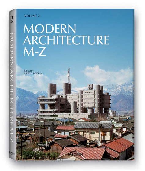 modern architecture   book publication  taschen