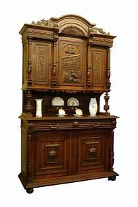 Schrank Eiche Massiv Antik : buffet schrank gr nderzeit antik eiche massiv um 1890 1461 ebay ~ Bigdaddyawards.com Haus und Dekorationen