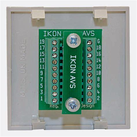 ikon connection module ep hdmi st hdmi terminals