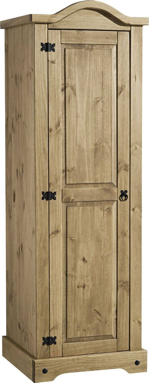 One Door Mirrored Wardrobe by 15 Best Single Door Pine Wardrobes