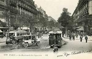 Paris Cle Nice : boulevard des capucines cartes postales anciennes ~ Premium-room.com Idées de Décoration