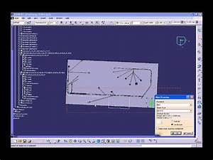 Catia V5 - Electrical Wire Harness Flattening  Hfx