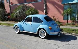 Find New Vw Super Beetle  1600cc Engine  4 Speed  Chrome Wheels  White Wall Tires In Clearwater