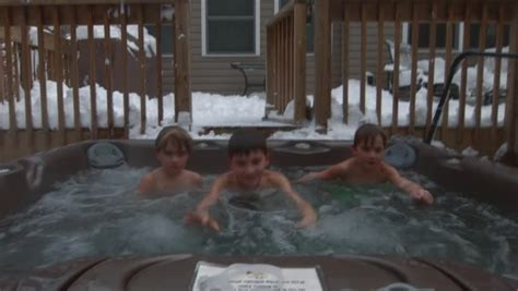who are the three in the tub three boys play together and swim in a tub in