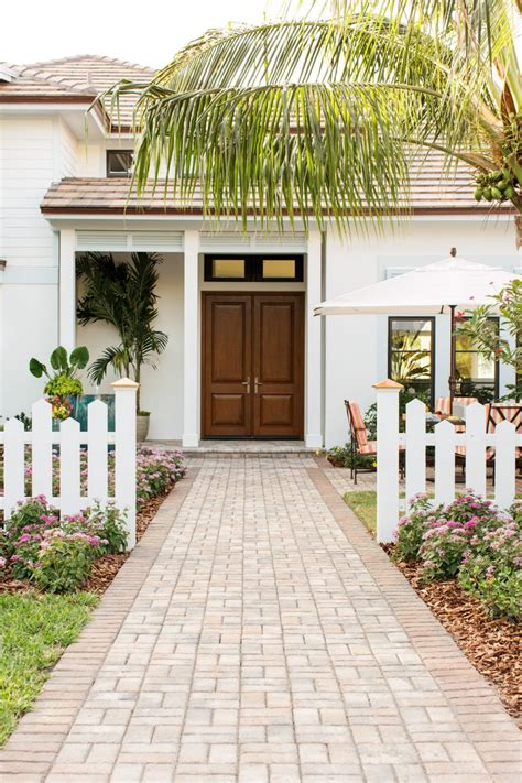front courtyard front courtyard pictures from hgtv dream home 2016 hgtv