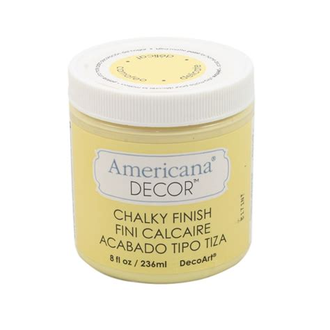 Americana Decor Chalky Finish Paint by Americana Decor Chalky Finish Paint 8oz 240ml