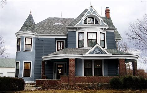 Paint Colors For Victorian Houses Exterior-house Style