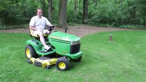 baileys honor auctions deere lx277 aws lawn mower