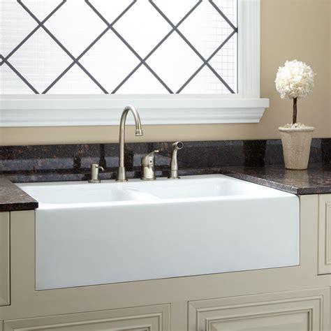 kitchen furniture handles 33 quot angove bowl cast iron farmhouse sink kitchen