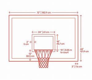 Basketball Dimensions  U0026 Drawings