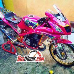 Foto Motor R Warna Pink by Modifikasi Motor Kawasaki Dan Cewek Warna Pink 1