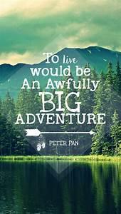 peter pan quote iPhone wallpaper https://www.etsy.com/shop ...