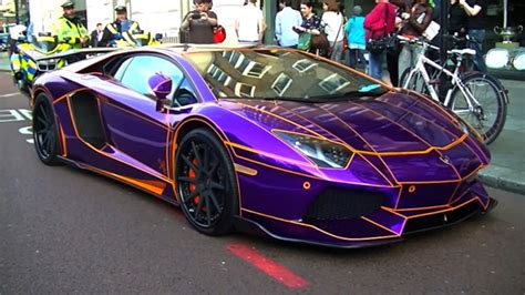 lamborghini aventador purple the gold supercars of london gold blog