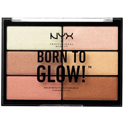 Nyx Born To Glow nyx professional makeup born to glow highlighting palette