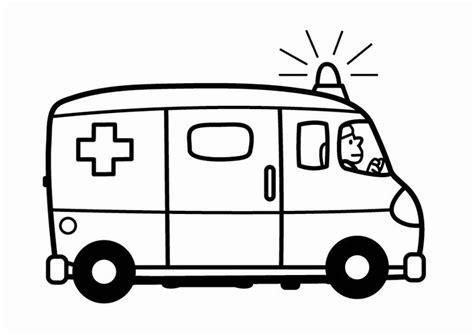 Ziekenwagen Kleurplaat by Kleurplaat Ziekenwagen Afb 24102