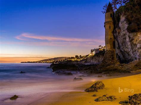 california  torre  victoria beach laguna beach