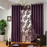 curtains for bedroom Elegant Contemporary bedroom curtains in Solid Color for Privacy