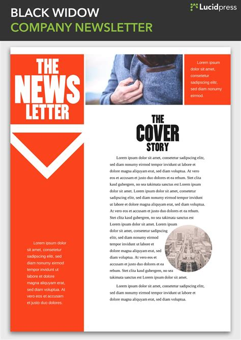 Enewsletter Template Design by 13 Best Newsletter Design Ideas To Inspire You Lucidpress