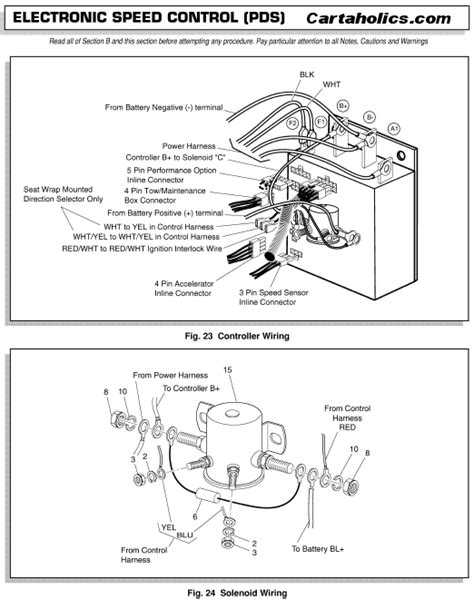 Club Car D Wiring Diagram by Cartaholics Golf Cart Forum Gt E Z Go Pds Wiring Diagram