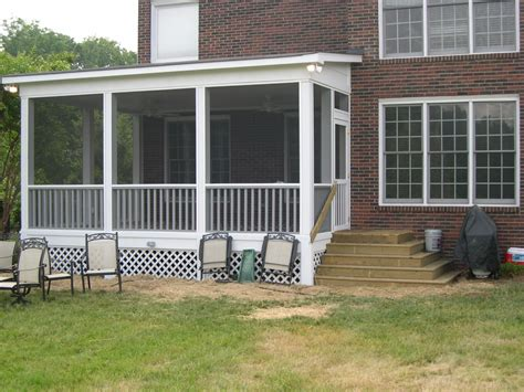 10x12 screen porch how to build a shed roof a deck