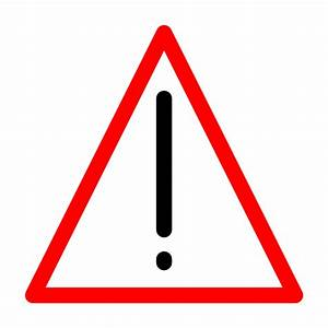 Warning Sign Clipart - Clipart Suggest