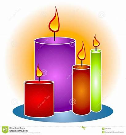 Candle Candles Clipart Lit Decorative Bougie Flame