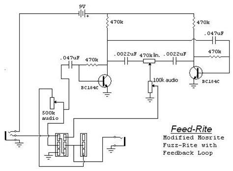 of schematics fuzz and fuzzy noisemakers