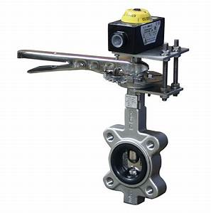 Manual Ss Butterfly Valves W   Limit Switch Kits
