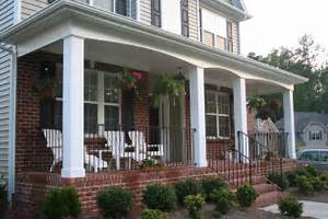 Front Porch Idea Casual Cottage Front Porch Designs For Minimalist House