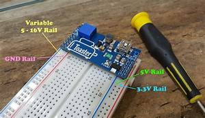 Toaster - The Triple Rail Step Up Breadboard Power Supply