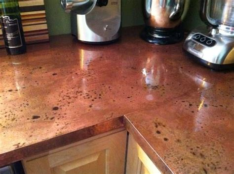 diy kitchen countertops ideas gorgeous diy copper countertops by beth wright diy