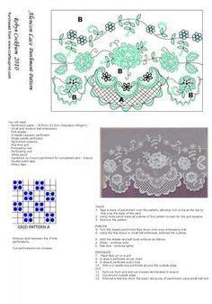 parchment craft flowers images parchment