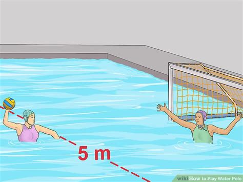 ways  play water polo wikihow