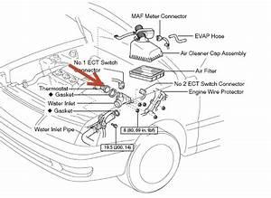 Toyota Sienna Thermostat Location On V6 Engine Diagram