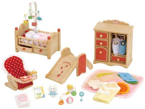 sylvanian families cuisine baby room set sylvanian families