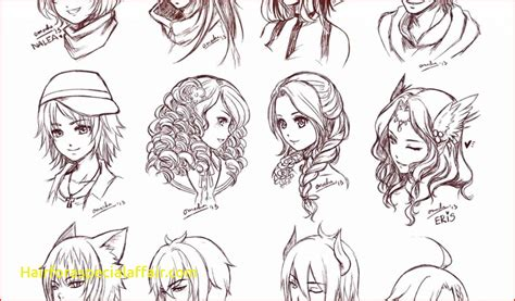 anime girl  short wavy hair  short hair styles