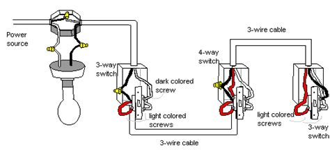 How Wire Multiple Lights Way Switch Electrical Diy