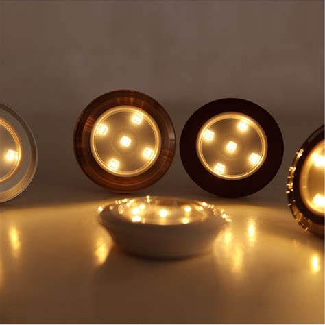 led closet light battery operated wireless led puck lights battery powered 3528smd warm