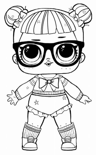 Lol Coloring Pages Dolls Printable Doll Disney