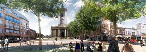 bureau amand les eaux rénovation du coeur de ville empreinte bureau de paysages