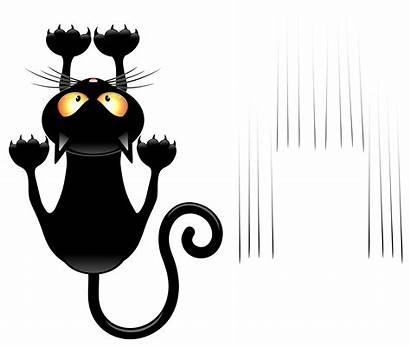 Cat Transparent Scratches Clipart Halloween Yopriceville