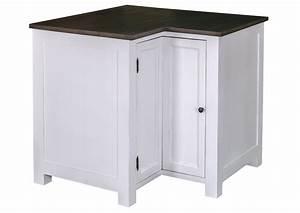 Meuble Angle Cuisine : acheter votre meuble de cuisine angle en pin massif chez simeuble ~ Teatrodelosmanantiales.com Idées de Décoration