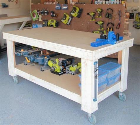 garage workbench ideas home interiors