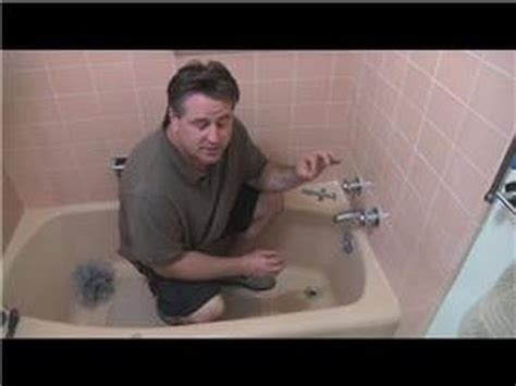 bathroom fix  tips   repair  leaking bathtub