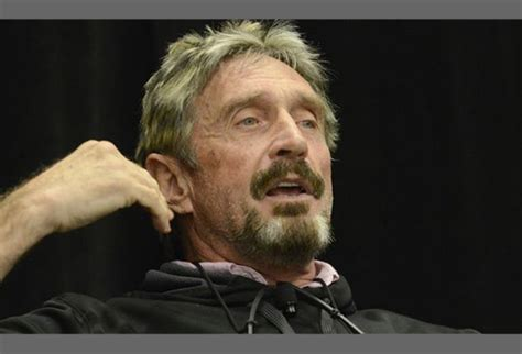 Performance Anxiety John Mcafee Says He Will Still 'eat