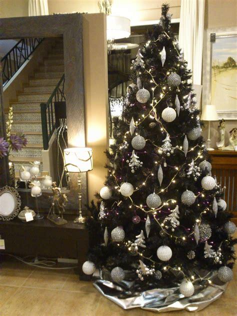 decoracion de navidad en color negro arte y decoracion